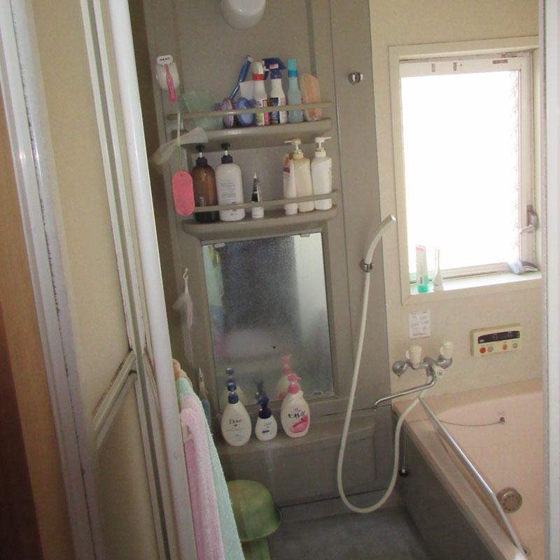 施工前(浴室)